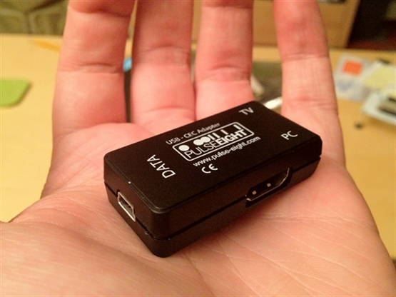 Control your TV from XBMC, or vice versa! USB - CEC Adapter